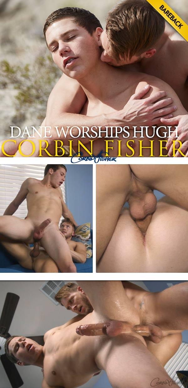 Dane Worships Hugh (Bareback) at CorbinFisher