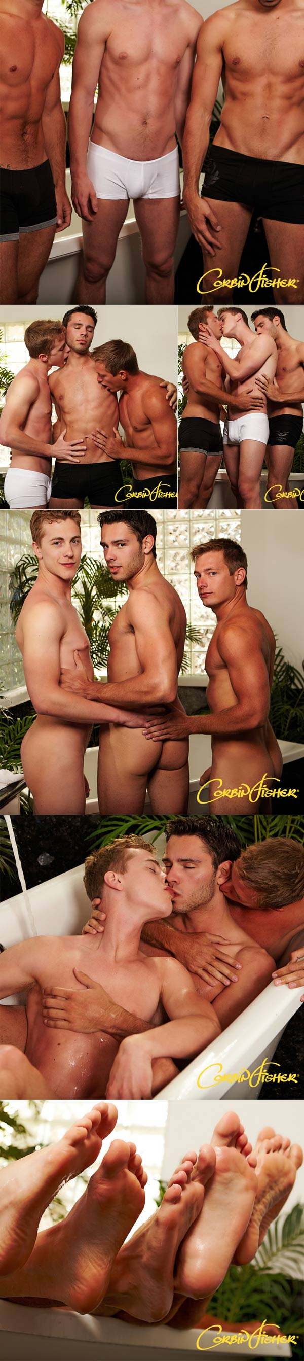 Dru & Martin Tag Trey at CorbinFisher