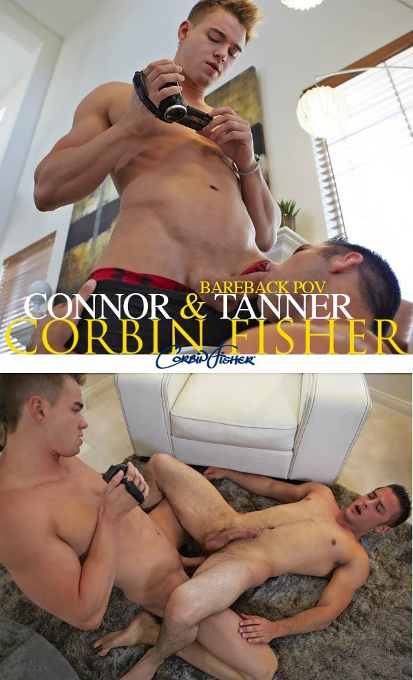 Connor & Tanner's Bareback POV Fuck at CorbinFisher