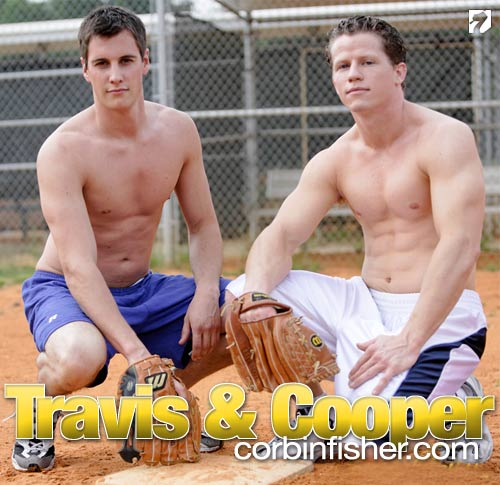 Travis Blows Cooper at CorbinFisher