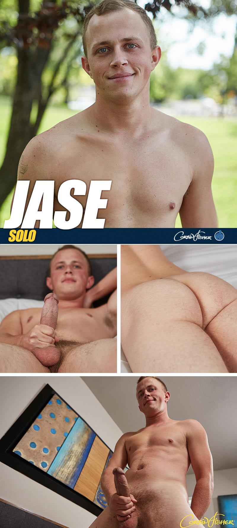 Jase's Solo at CorbinFisher