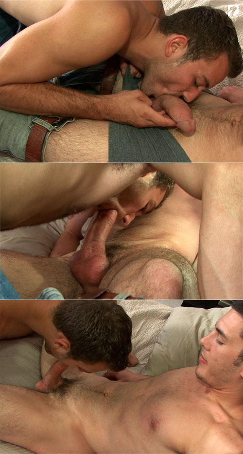 Blowing Rick at CorbinFisher