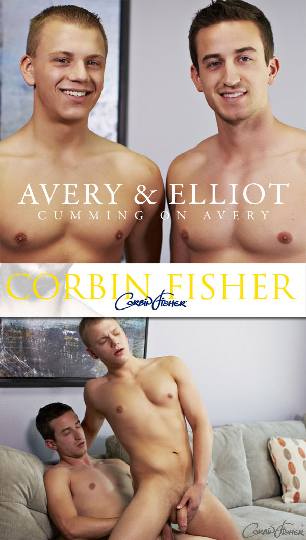 Cumming On Avery (Elliot & Avery) at CorbinFisher