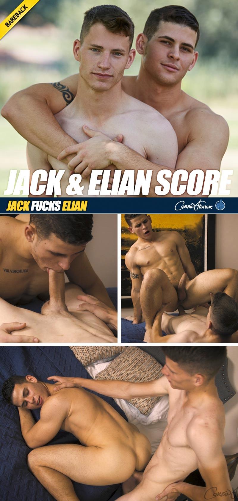 Jack & Elian Score (Bareback) at CorbinFisher