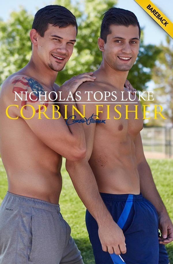Nicholas Tops Luke (Bareback) at CorbinFisher