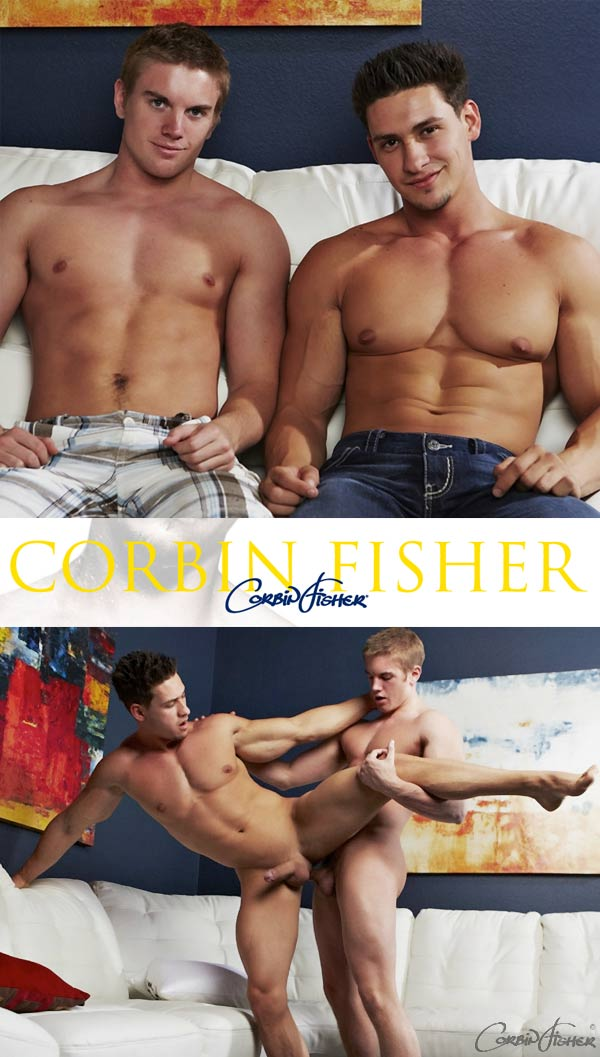 Cain & Kent (Feeding Kent a Load)(Bareback) at CorbinFisher