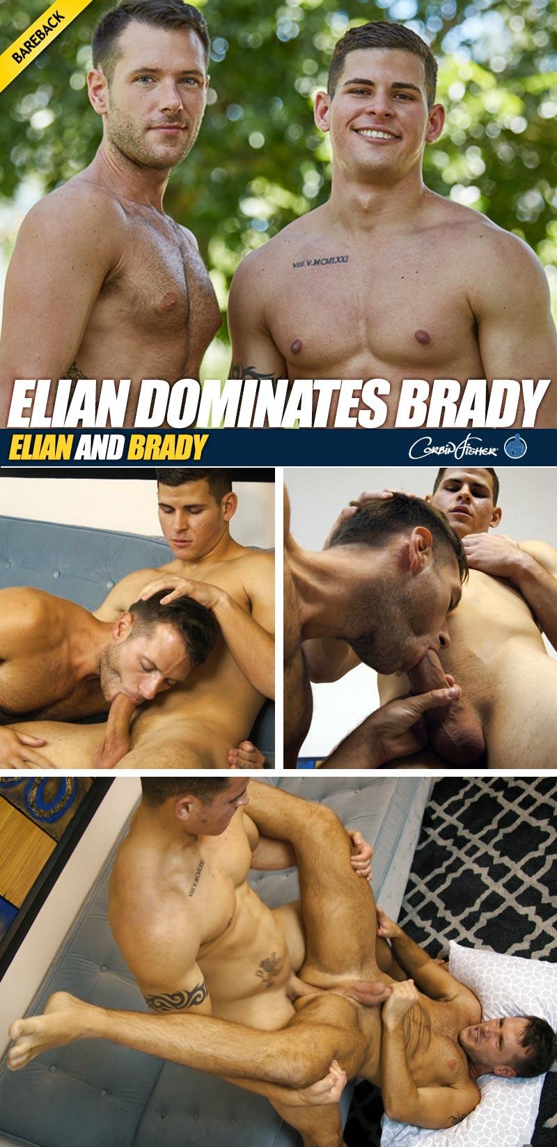 Elian Dominates Brady (Bareback) at CorbinFisher