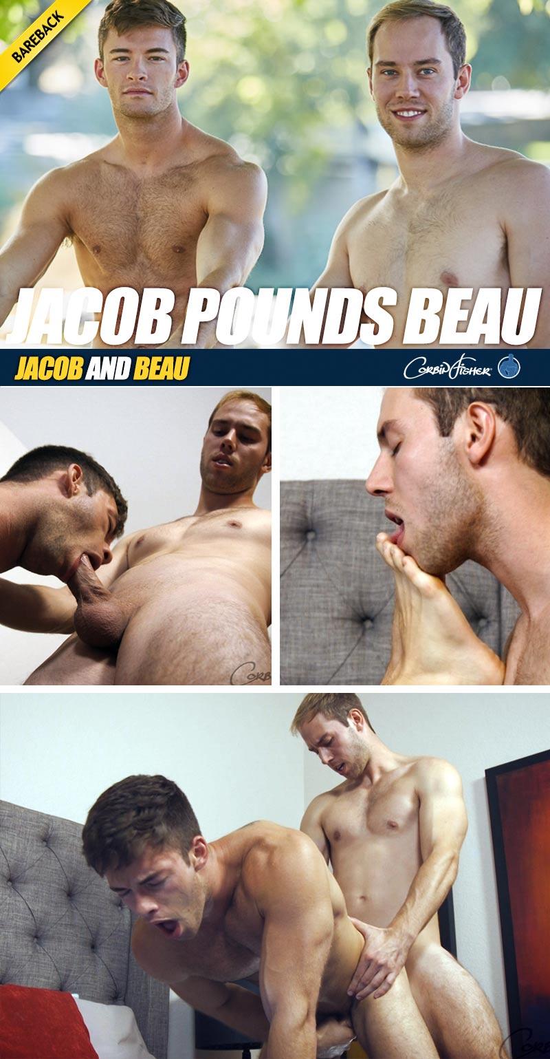 Jacob Pounds Beau (Bareback) at CorbinFisher
