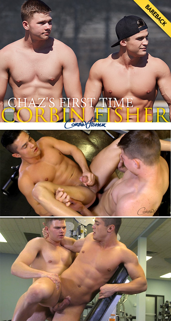 Chaz's First Time (Chaz & Colt) (Bareback) at CorbinFisher