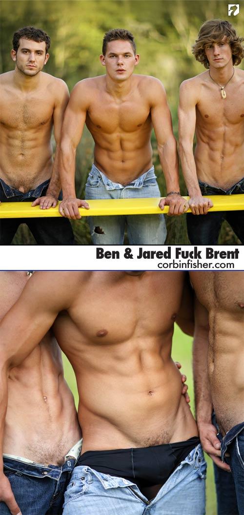 Ben & Jared Fuck Brent at CorbinFisher