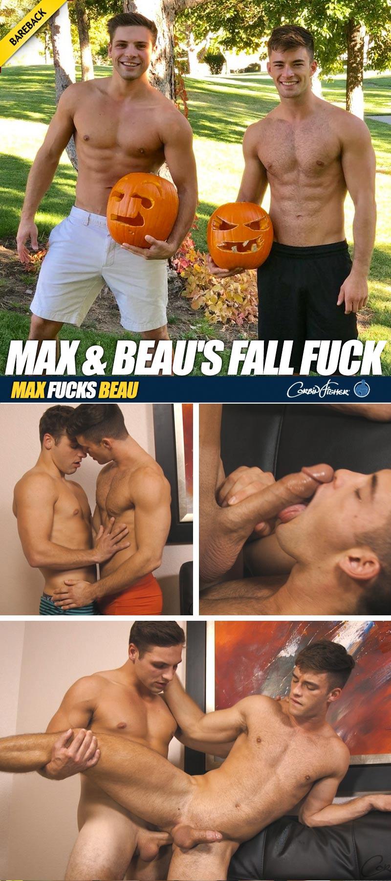 Max & Beau's Fall Fuck (Bareback) at CorbinFisher