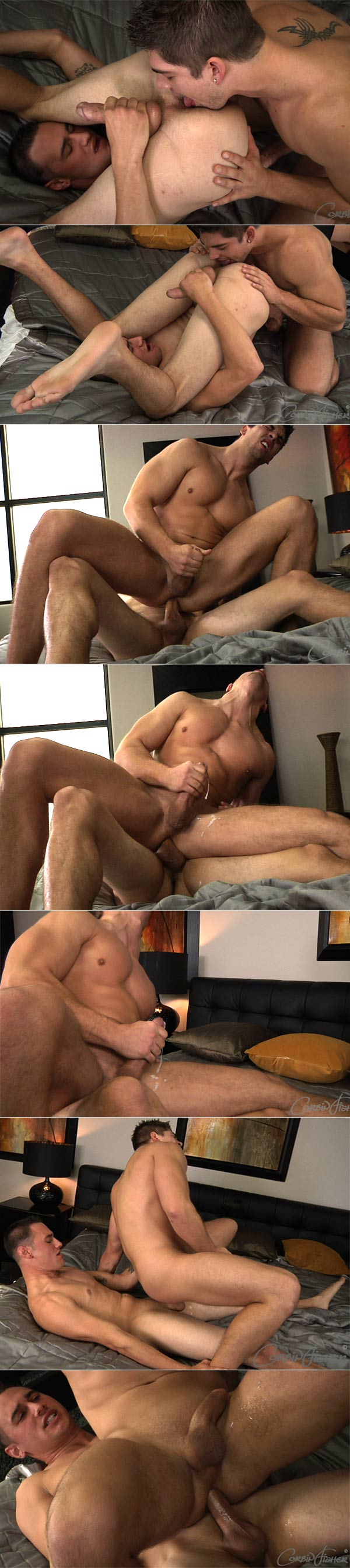 Hunter's First Time (Hunter & Aiden) (Bareback) at CorbinFisher
