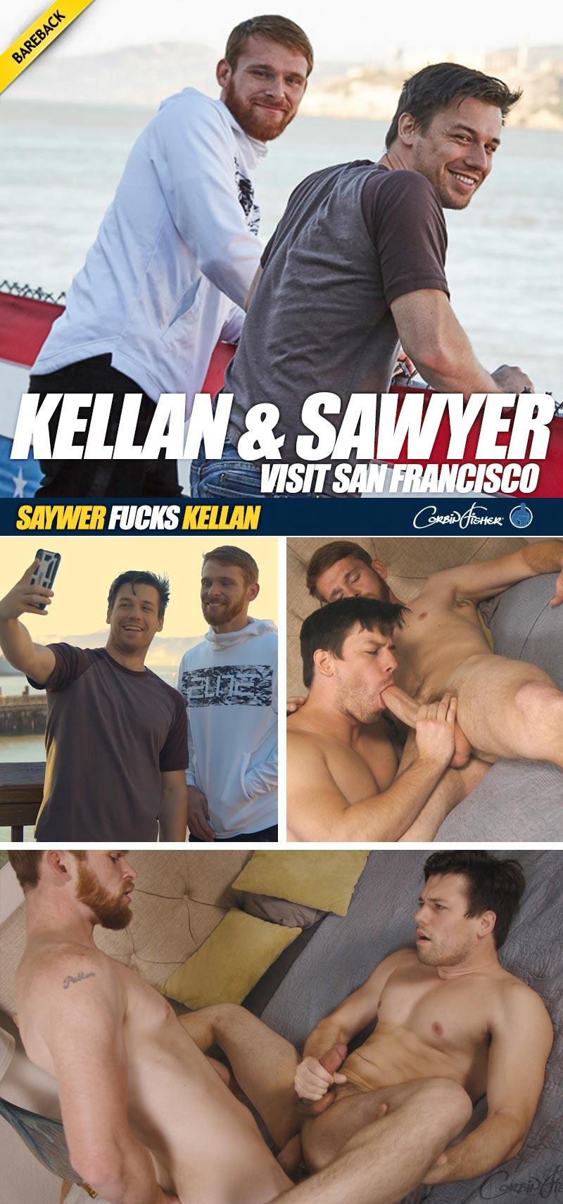 Kellan and Sawyer Visit San Francisco (Bareback) at CorbinFisher