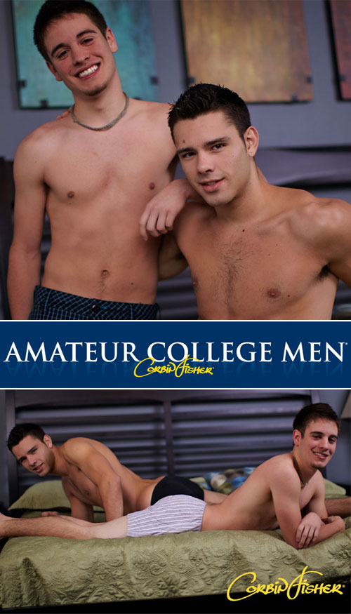 Mason & Trey (Mason's First Time) at CorbinFisher