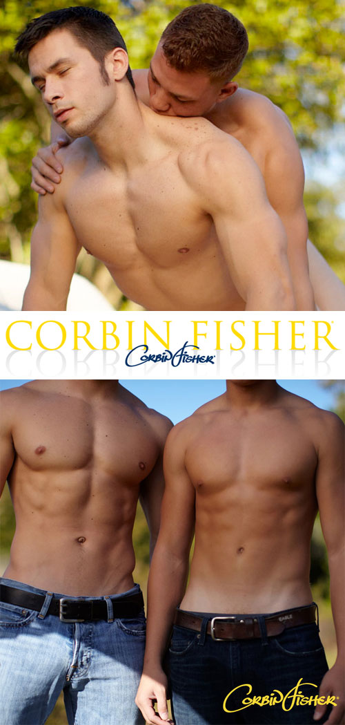 Wesley & Austin (Wesley's First Time) at CorbinFisher