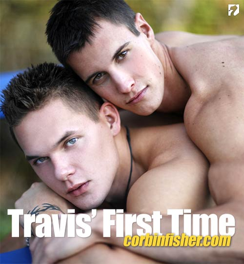 Travis' First Time at CorbinFisher