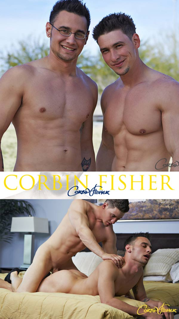 Cain Fucks Hunter (Bareback) at CorbinFisher