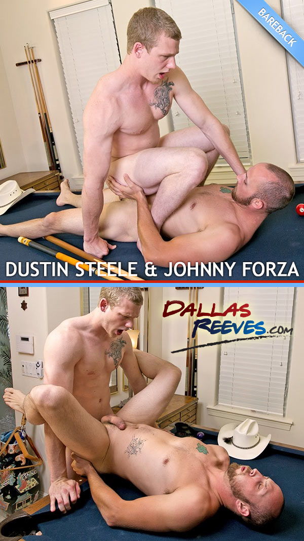 Dustin Steele & Johnny Forza (Bareback Flip-Flop) at DallasReeves.com