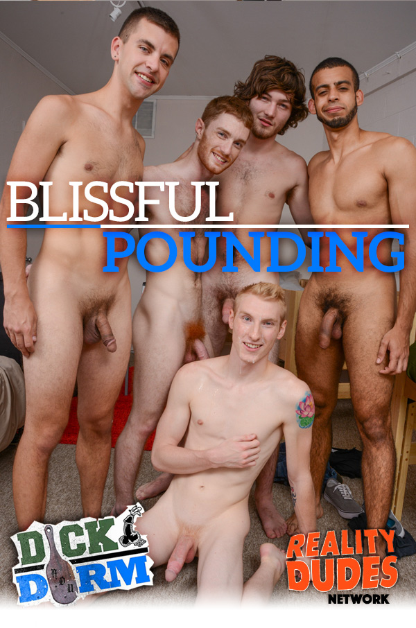 Blissful Pounding at DickDorm.com
