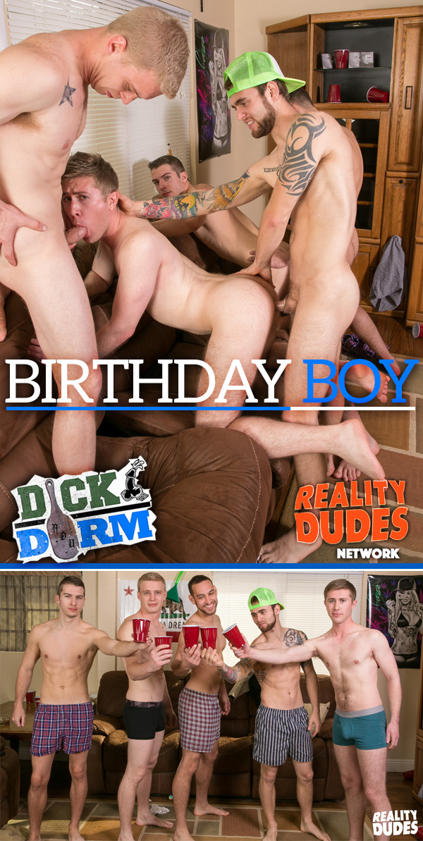 Birthday Boy at DickDorm.com