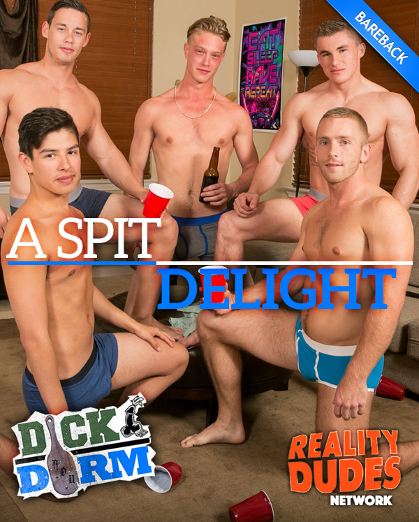 A Spit Delight at DickDorm.com