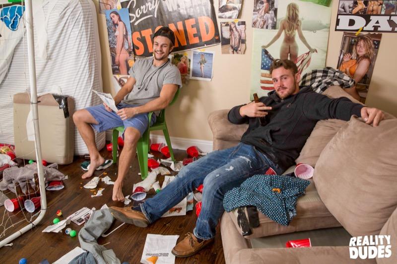Goalie (Trevor Long, Rod Peterson, Johnny Cohen & Charlie Pattinson) at DickDorm.com