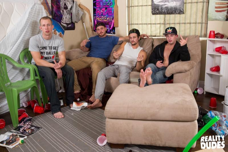 Please Fuck Me Hard! (Trevor Long, Tobias & Charlie Pattinson Tag-Team Johnny Cohen) (Bareback) at DickDorm.com