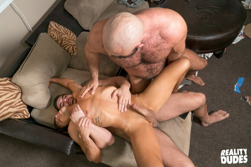 Playing Games (Damien Stone and Steven Roman Tag-Team Titus) (Bareback) at DickDorm.com