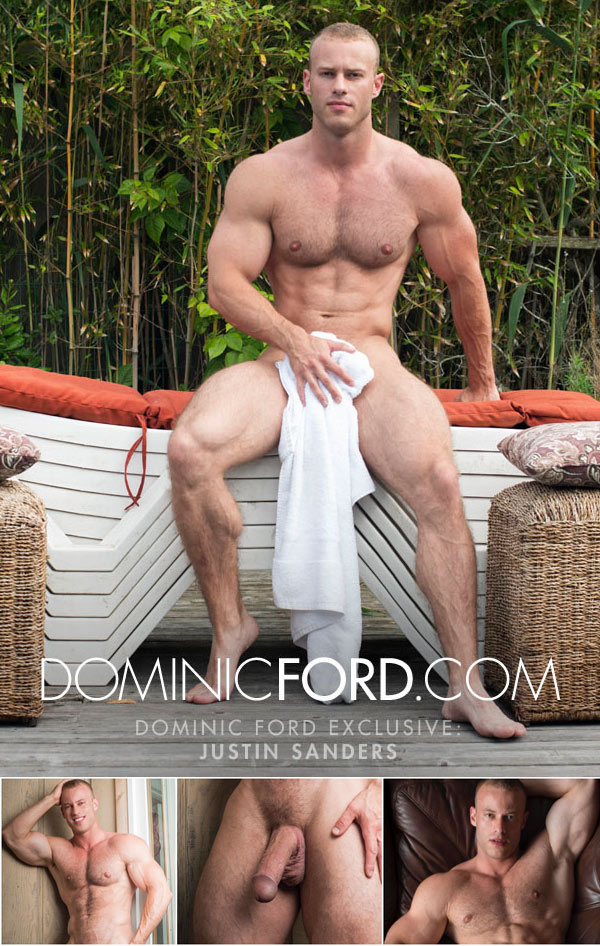 Justin Sanders Gets Massaged at DominicFord.com