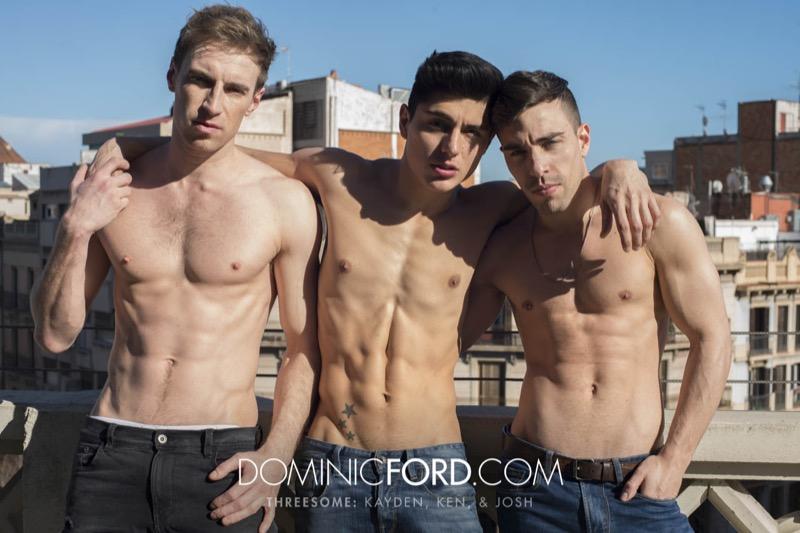 Kayden Cross & Josh Milk Double-Penetrate Ken Summers at DominicFord.com