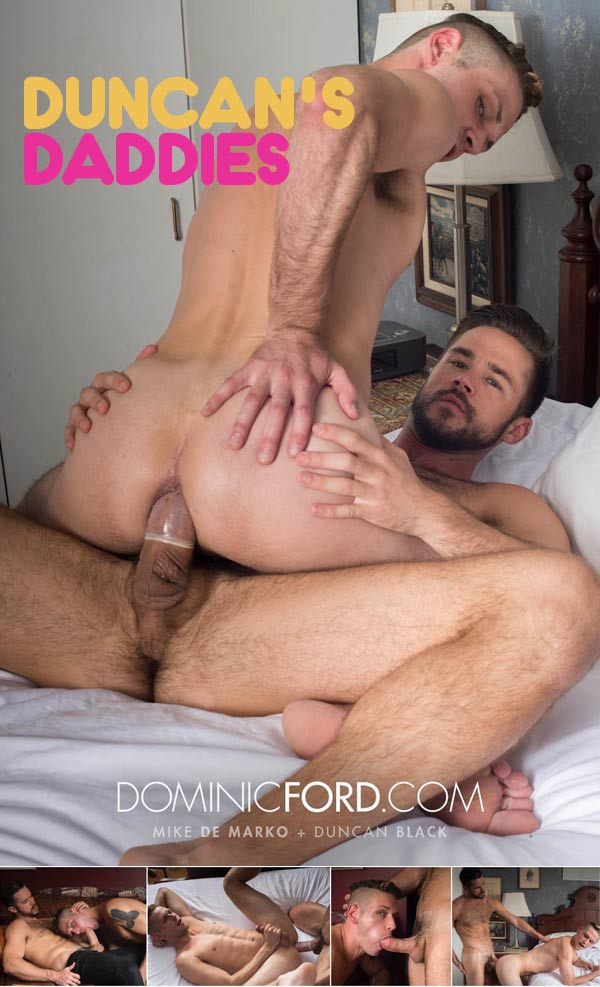 Duncan's Daddies: Mike De Marko Fucks Duncan Black at DominicFord.com