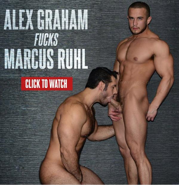 Alex Graham Fucks Marcus Ruhl at DominicFord.com