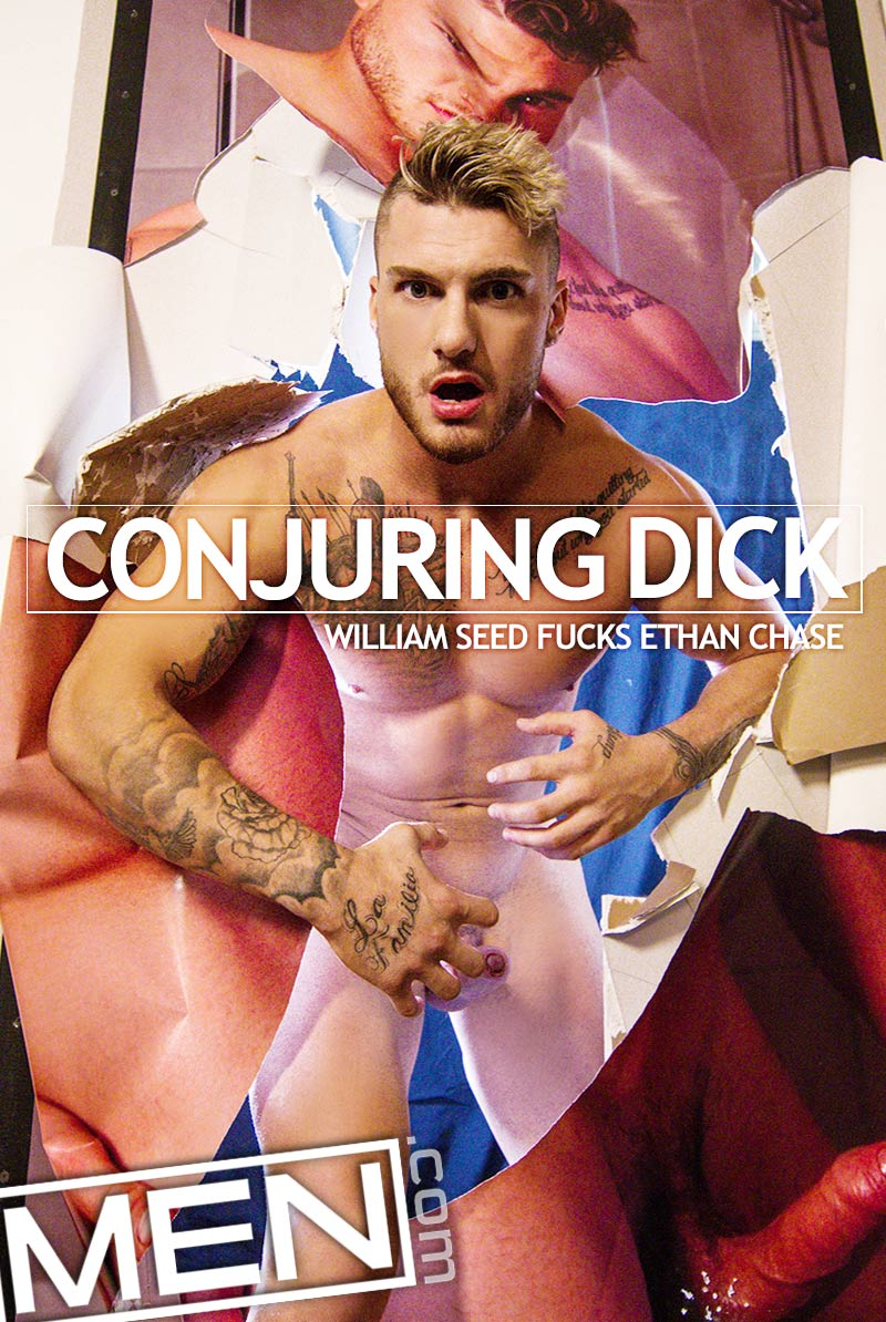 Conjuring Dick (William Seed Fucks Ethan Chase) at Drill My Hole