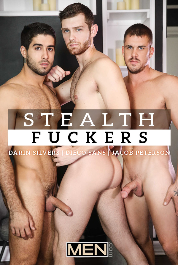 Stealth Fuckers (Diego Sans, Darin Silvers and Jacob Peterson) (Part 13) at Drill My Hole