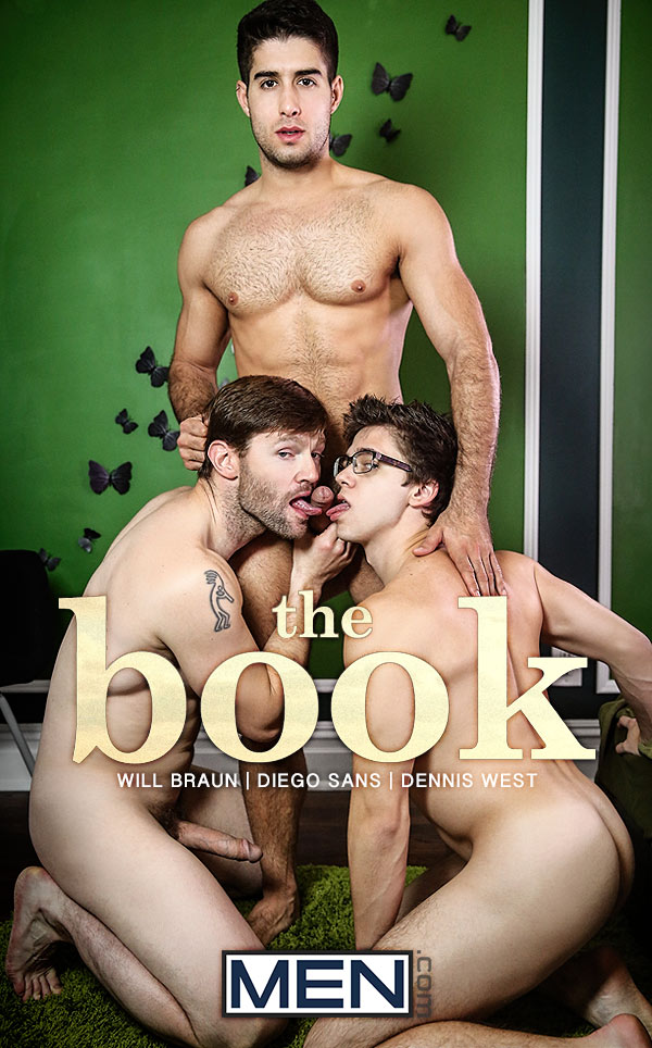 The Book (Diego Sans and Dennis West Tag-Team Will Braun) (Part 2) at Drill My Hole