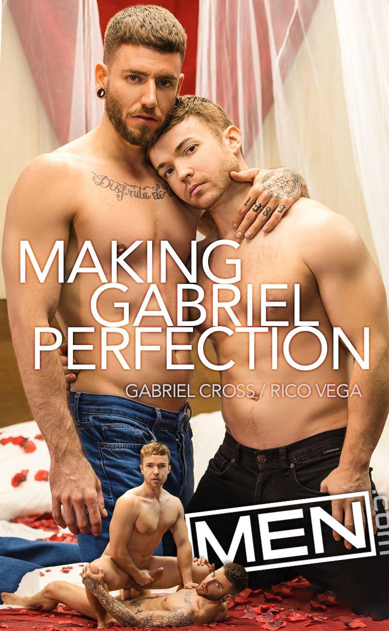 Making Gabriel Perfection (Gabriel Cross and Rico Vega Flip-Fuck) at Drill My Hole