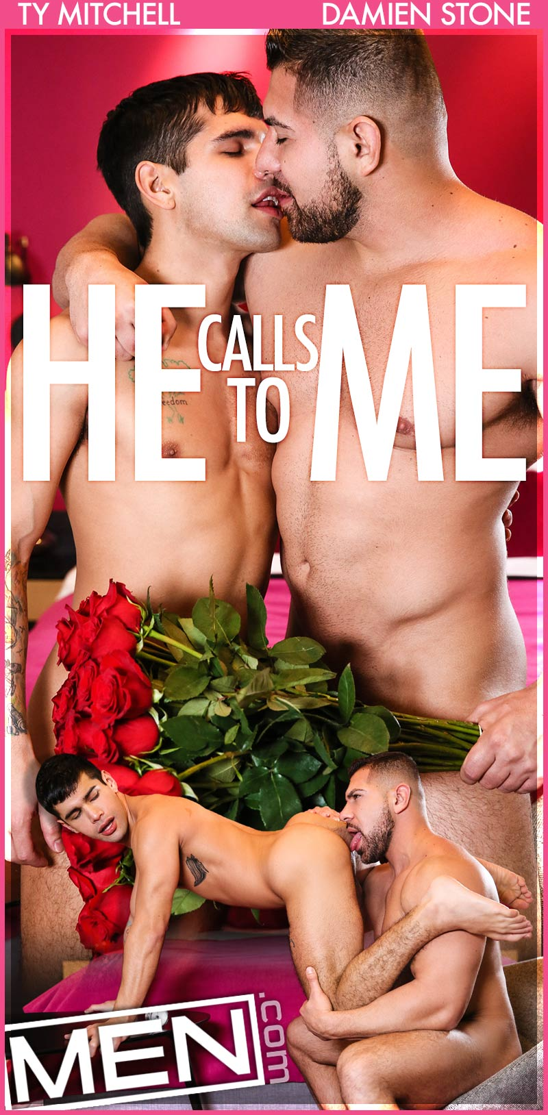 He Calls To Me (Damien Stone Fucks Ty Mitchell) at MEN
