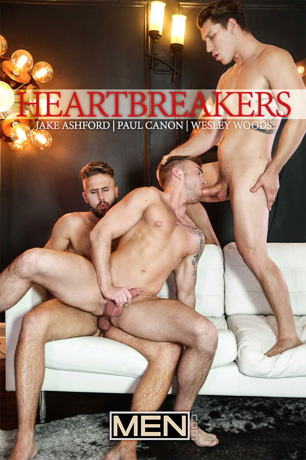 Heartbreakers (Jake Ashford, Paul Canon & Wesley Woods) (Part 3) at Drill My Hole