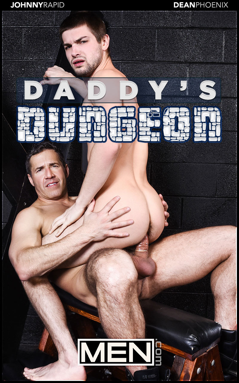Daddy's Dungeon, Part 1 (Dean Phoenix Fucks Johnny Rapid) at Drill My Hole