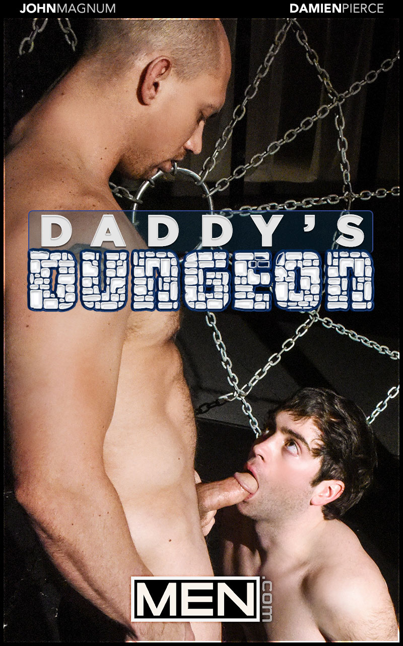 Daddy's Dungeon, Part 2 (John Magnum Fucks Damien Pierce) at Drill My Hole