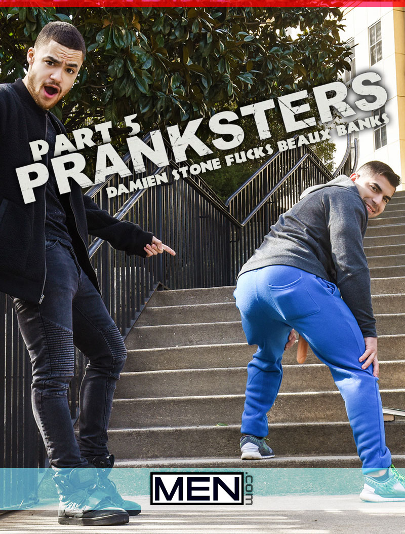Pranksters, Part 5 (Damien Stone Fucks Beaux Banks) at Drill My Hole