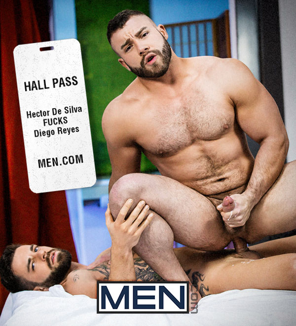 Hall Pass (Hector De Silva Fucks Diego Reyes) (Part 1) at Drill My Hole