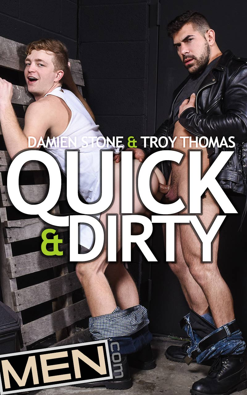 Quick And Dirty (Damien Stone Fucks Troy Thomas) at Drill My Hole