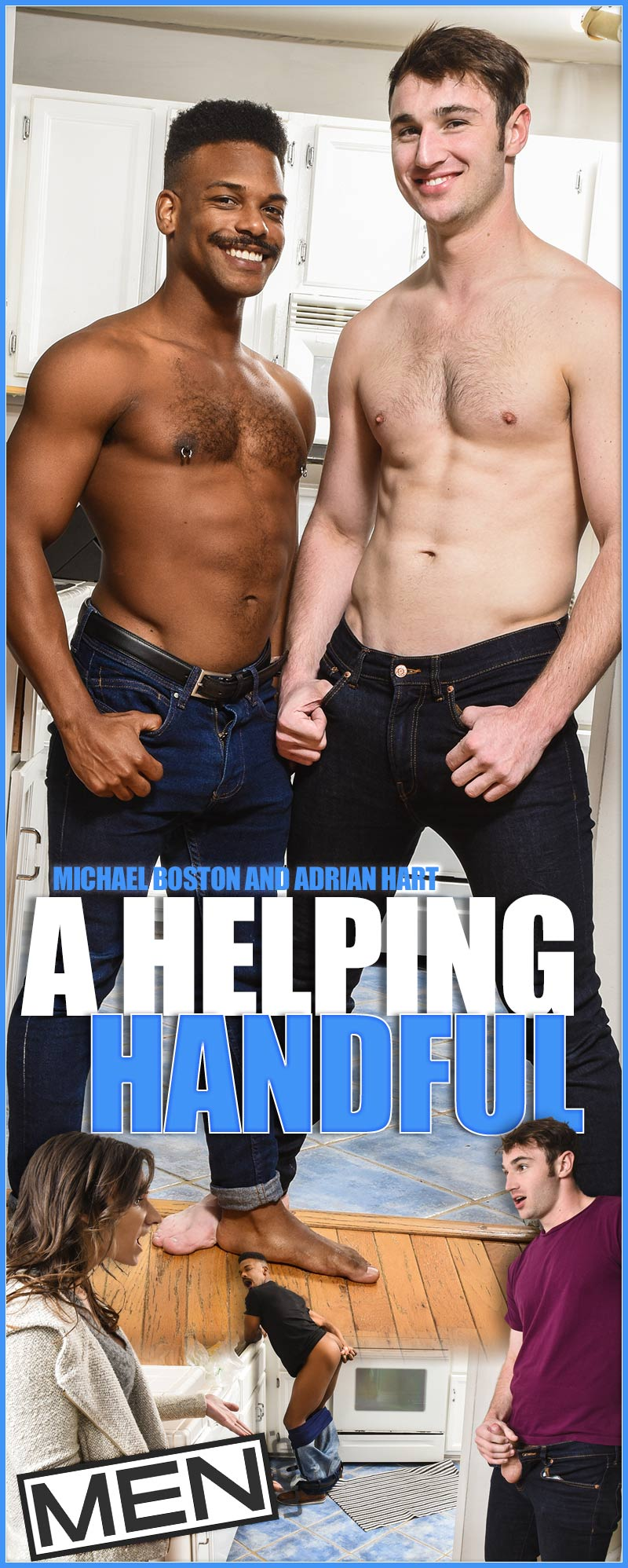 A Helping Handful (Michael Boston and Adrian Hart) at Drill My Hole