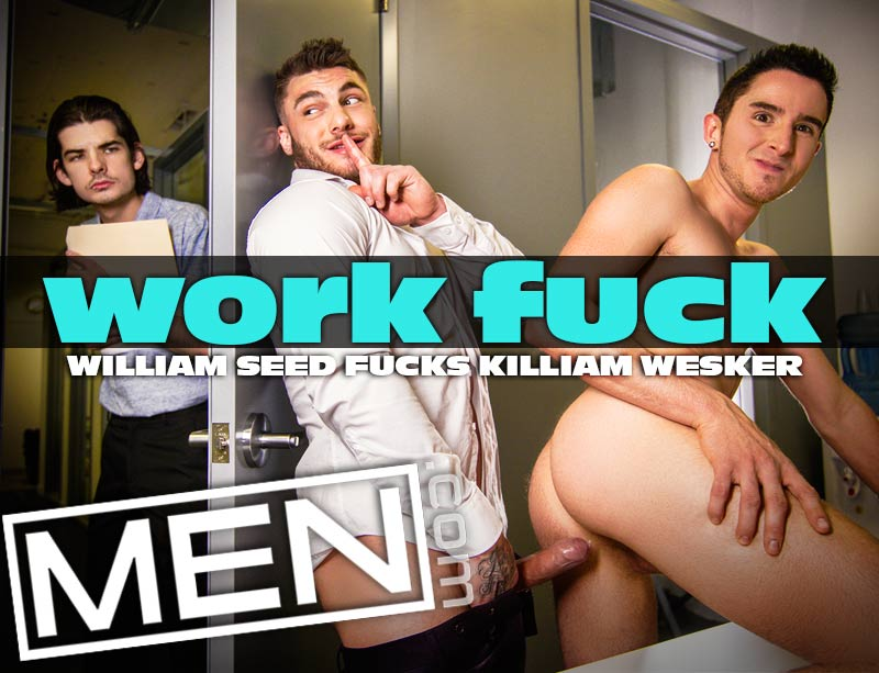 Work Fuck (William Seed Fucks Killiam Wesker) at MEN
