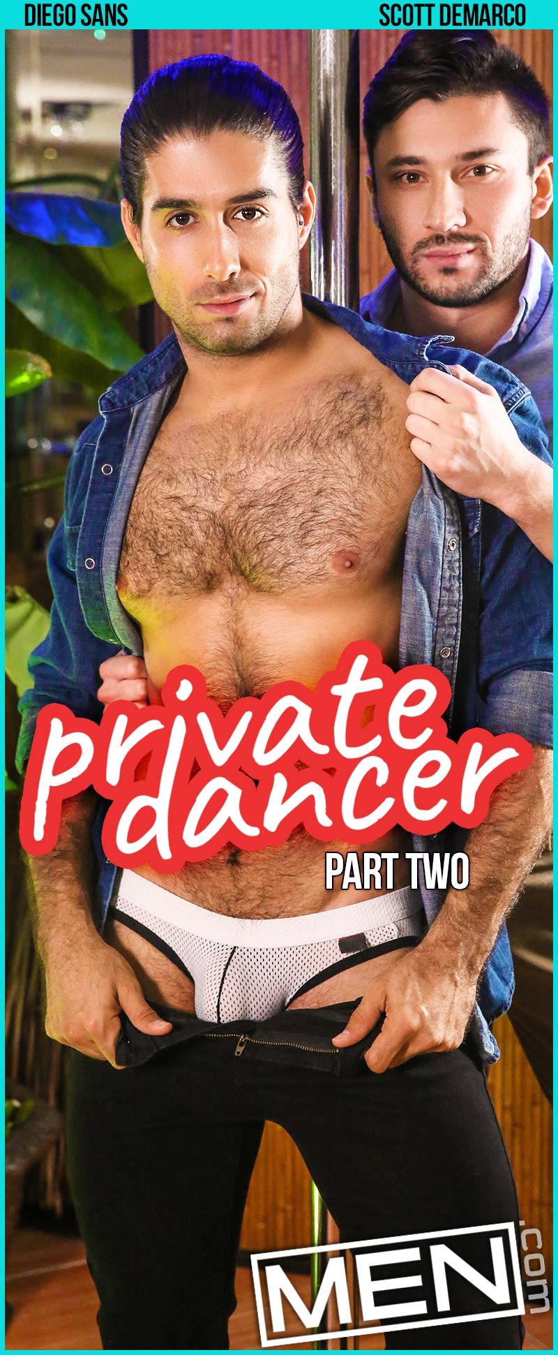 Private Dancer, Part Two (Diego Sans Fucks Scott Demarco) at MEN