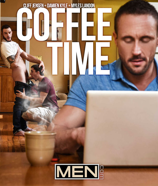 Coffee Time (Cliff Jensen and Myles Landon Tag-Team Damien Kyle) at Drill My Hole