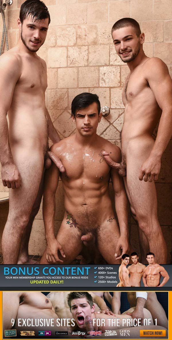 Peepers (Johnny Rapid, Leo Fuentes and Noah Jones) (Part 7) at Drill My Hole