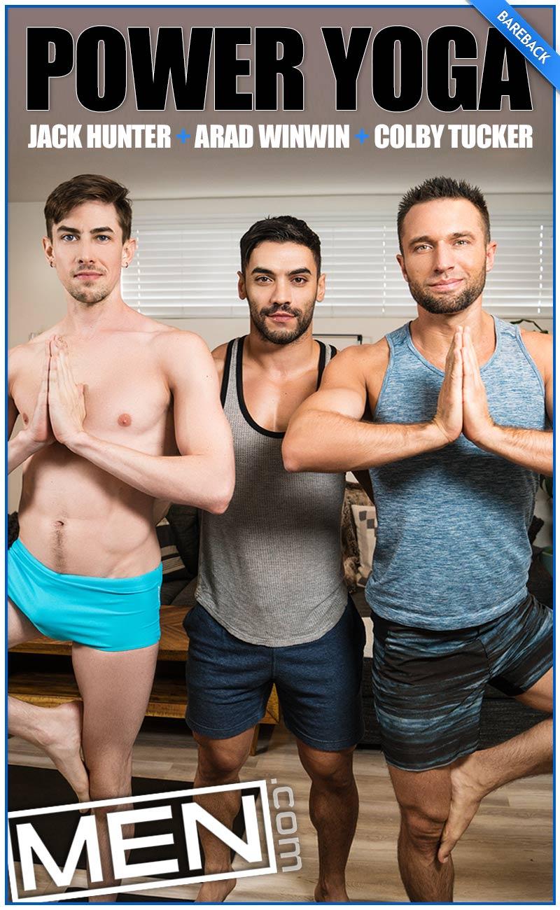 Power Yoga, Part Two (Arad Winwin, Colby Tucker & Jack Hunter) at MEN.com