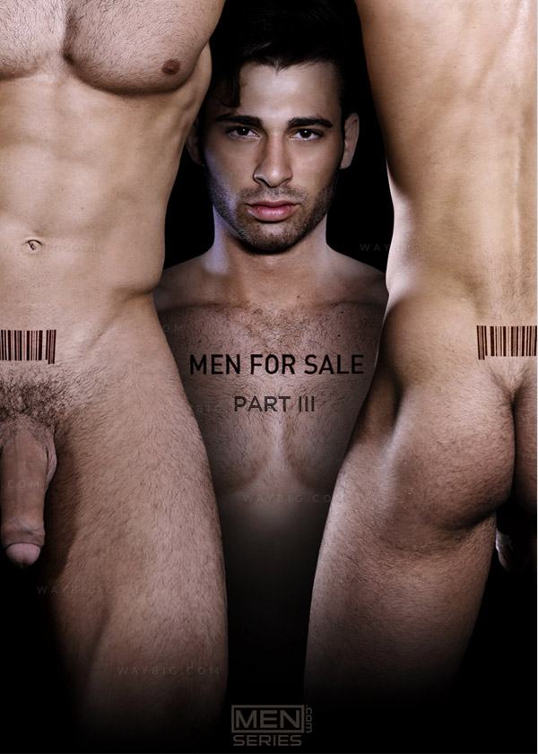 Men For Sale (Jarec Wentworth, Dirk Caber & Tom Faulk) (Part 3) at Drill My Hole